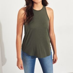 Hollister must have easy tank top muscle tank